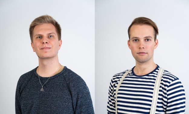 Matti Heikkilä ja Aleksi Murtojärvi